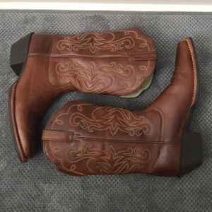 Ariat Woman's Russet Rebel Legend Western Boot